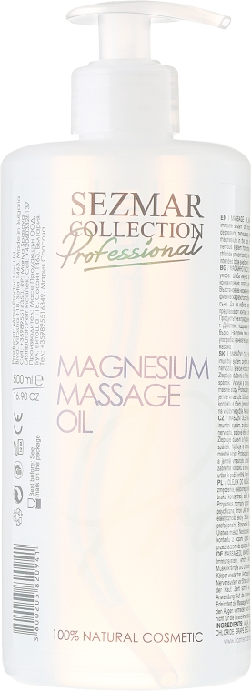 Magnezowy olejek do masażu - Sezmar Collection Professional Magnesium Massage Oil — фото N1