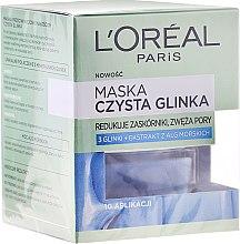 Kup Maska redukująca niedoskonałości Czysta glinka - L'Oreal Paris Skin Expert