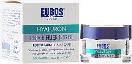 Kup Multiaktywny krem przeciwzmarszczkowy na noc z kwasem hialuronowym - Eubos Med Anti Age Hyaluron Repair Filler Night Cream