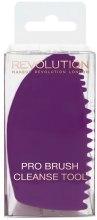 Silikonowa łapka do czyszczenia pędzli - Makeup Revolution Pro Brush Cleanse Tool — фото N1