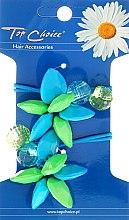 Kup Gumki do włosów, kwiatki i kryształy, 21497 - Top Choice