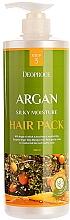Kup Maska do włosów zniszczonych z olejkiem arganowym, ekstraktem z henny i peptydem miedzi - Deoproce Argan Silky Moisture Hair Pack
