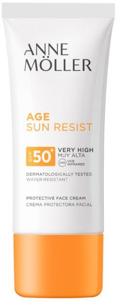 Krem przeciwsłoneczny SPF 50+ - Anne Moller Age Sun Resist Protective Face Cream — фото N1