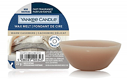 Kup Aromatyczny wosk do kominka - Yankee Candle Wax Melt Warm Cashmere