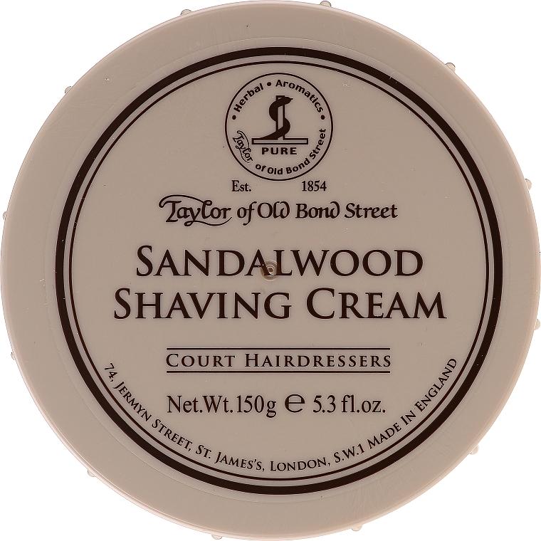 Krem do golenia dla mężczyzn Liście tytoniu - Taylor of Old Bond Street Sandalwood Shaving Cream Bowl