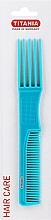 Kup Grzebień-widelec 19 cm, niebieski - Titania