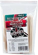 Kup Drewniane patyczki do manicure, 15 cm - Ronney Professional