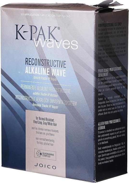 PRZECENA! Alkaliczny zestaw do trwałej do włosów normalnych - Joico K-Pak Reconstructive Alkaline Wave N/R* — фото N2