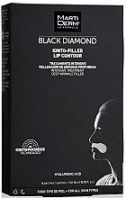 Kup Płatki do strefy wokół ust - MartiDerm Black Diamond Ionto-Filler Lip Contour