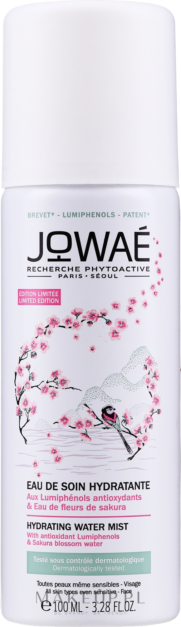 Nawilżająca wodna mgiełka do twarzy - Jowaé Hydrating Water Mist — фото 100 ml
