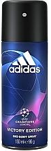 Kup Adidas UEFA Champions League Victory Edition - Dezodorant w sprayu dla mężczyzn