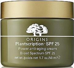 Kup Przeciwzmarszczkowy krem do twarzy SPF 25 - Origins Plantscription SPF25 Power Anti-Aging Cream