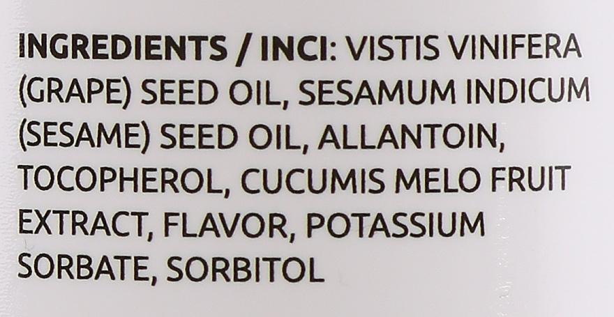 Melonowy olejek do masażu - Hristina Professional Melon Massage Oil — фото N3