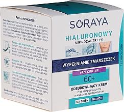 Kup Odbudowujący krem z transdermalnym kwasem hialuronowym na dzień/noc 60+ - Soraya Hialuronowy Mikrozastrzyk Cream