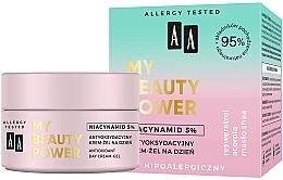 Kup Antyoksydacyjny krem-żel na dzień Niacynamid 5% - AA My Beauty Power Niacynamid 5% Antioxidant Day Cream-Gel