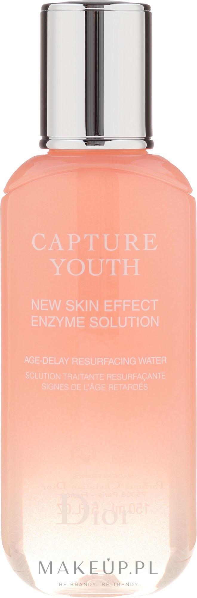 Płyn enzymatyczny do twarzy - Dior Capture Youth New Skin Effect Enzyme Solution Age-Delay Resurfacing Water — фото 150 ml