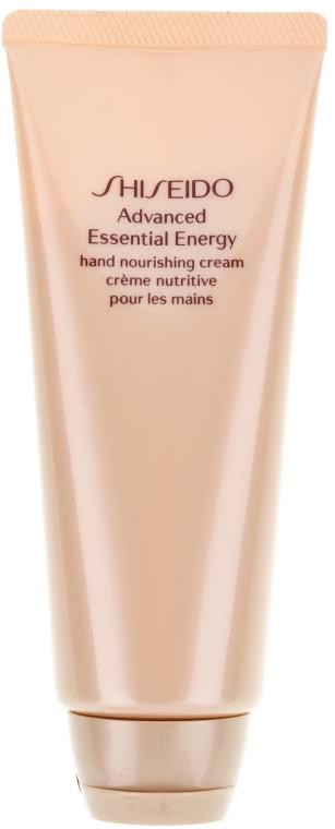 Odżywczy krem do rąk - Shiseido Advanced Essential Energy Hand Nourishing Cream — фото N2