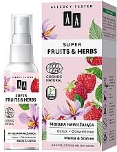 Kup Nawilżająca mgiełka do twarzy Detoks + odświeżenie - AA Super Fruits & Herbs Natural