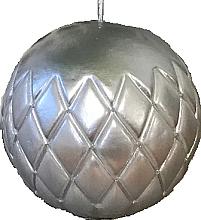 Kup Świeca dekoracyjna srebrna kula, 10 cm - Artman Florence