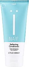 Kup Zmiękczająca odżywka do włosów z olejem lnianym - Naif Softening Conditioner