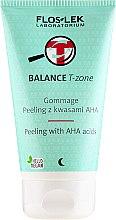 Kup Peeling gommage z kwasami AHA do twarzy - Floslek Balance T-Zone
