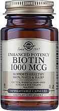 Kup Suplement diety Biotyna 1000mcg - Solgar Enhanced Potency Biotin
