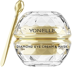 Kup Diamentowy krem i maska pod oczy i na usta - Yonelle Diamond Eye Cream & Mask