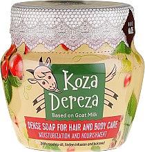 Kup Gęste nawilżające mydło do włosów i ciała - Fitokosmetik Koza Dereza