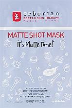 Kup Matująca maska w płachcie do twarzy - Erborian Matte Shot Mask