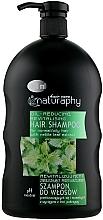 Kup Rewitalizujący i zmniejszający przetłuszczenie szampon do włosów przetłuszczających się i normalnych z wyciągiem z liści pokrzywy - Bluxcosmetics Naturaphy