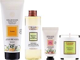 Kup Zestaw - Collines De Provence Gift Set (h/cr/30ml + shr/gel/200ml + candle/75g + aroma/diffuser/200ml)