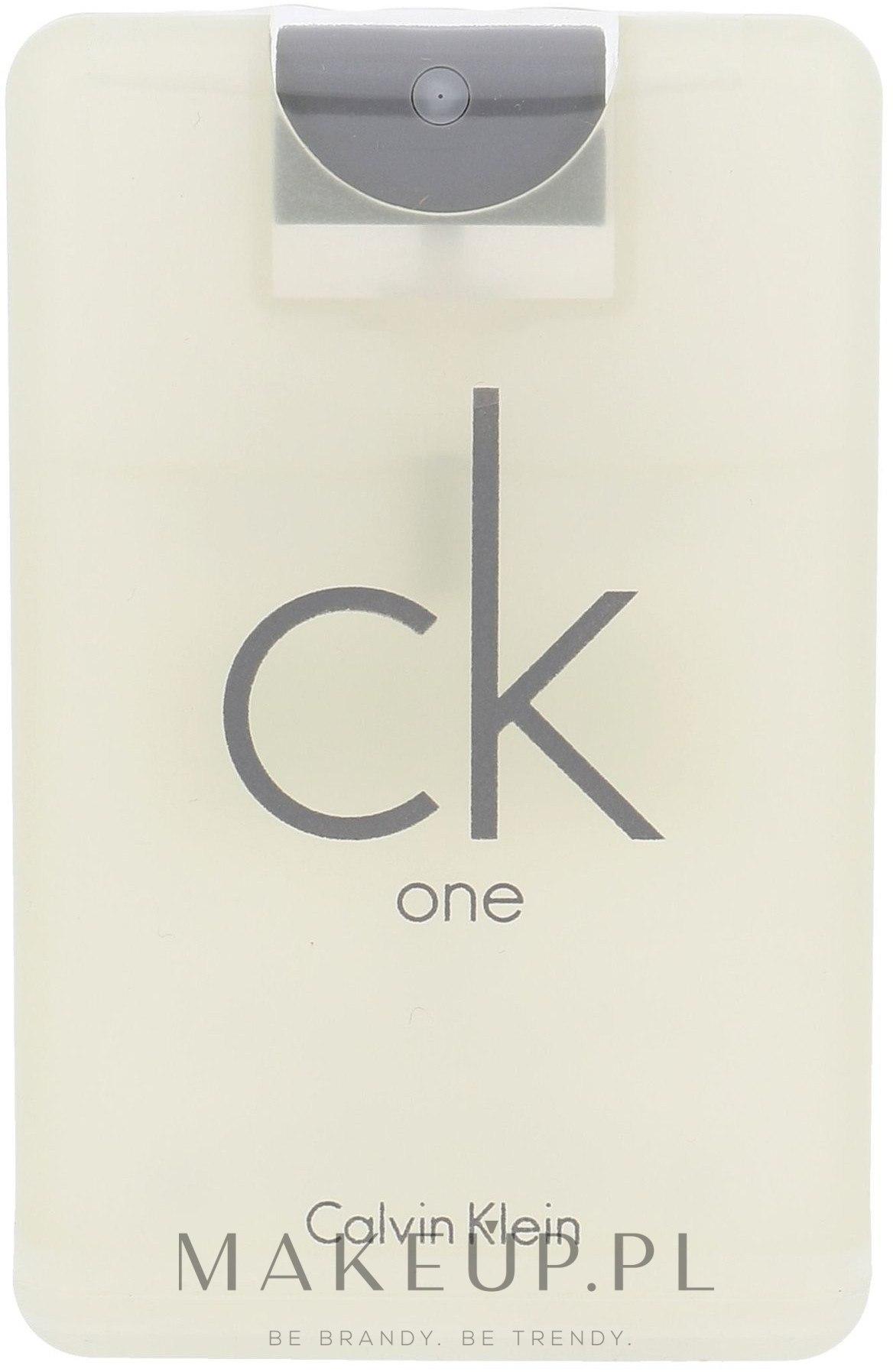 Calvin Klein CK One - Woda toaletowa — фото 20 ml
