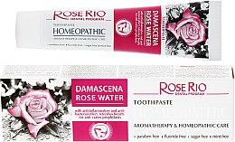 Kup Homeopatyczna pasta do zębów z organiczną wodą do zębów - Rose Rio Toothpast