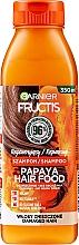 Kup Szampon do odbudowy włosów Papaja - Garnier Fructis Repairing Papaya Hair Food Shampoo