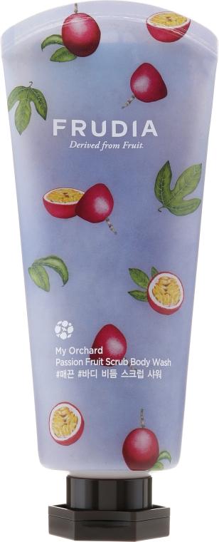 Peelingujący żel pod prysznic o zapachu marakui - Frudia My Orchard Passion Fruit Scrub Body Wash — фото N1