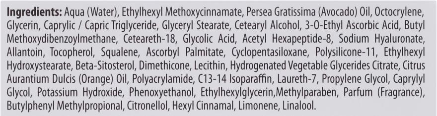 Nawilżający krem z witaminą C na dzień SPF 20 - Bielenda Neuro Glicol + Vit.C — фото N4