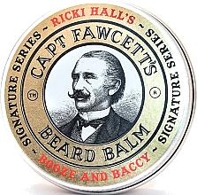 Kup Balsam do brody - Captain Fawcett Ricki Hall Booze & Baccy Beard Balm