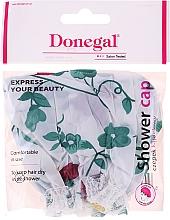 Kup Czepek kąpielowy, zielone kwiaty - Donegal Shower Cap