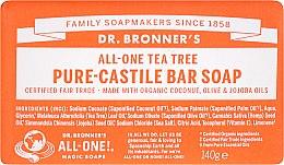 Kup Mydło Drzewo herbaciane - Dr. Bronner's Pure Castile Bar Soap Tea Tree