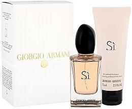 Kup Giorgio Armani Si - Zestaw (edp 50 ml + b/lot 75 ml)