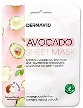 Kup Maseczka do twarzy w płachcie z wyciągiem z awokado - Derma V10 Avocado Sheet Mask