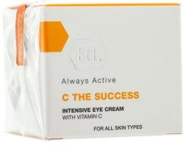 Intensywny krem nawilżający do twarzy - Holy Land Cosmetics C the Success Intensive Eye Cream With Vitamin  — фото N1