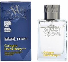 Kup Label.m Cologne Hair & Body - Woda kolońska dla mężczyzn do włosów i ciała