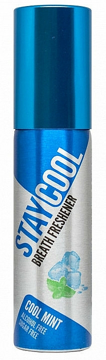 Miętowy spray odświeżający do ust - Stay Cool Breath Fresheners Cool Mint — фото N1