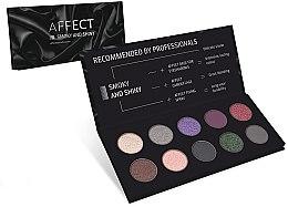 Kup Paletka prasowanych cieni do powiek - Affect Cosmetics Smoky And Shiny Eyeshadow Palette