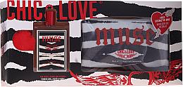 Kup PRZECENA! Chic&Love Muse - Zestaw (edt 100 ml + bag) *