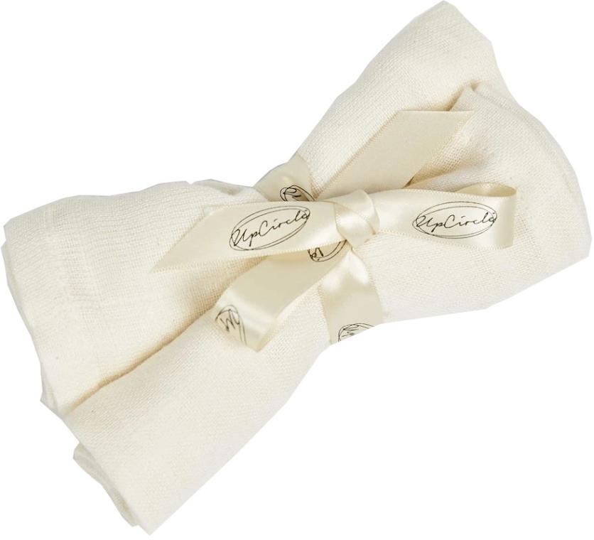 Muślinowe chusteczki do oczyszczania twarzy - UpCircle Organic Muslin Cloths — фото N1