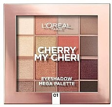 Kup Paleta cieni do powiek - L'Oreal Paris Cherry My Cherie Eyeshadow Palette