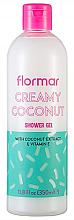 Kup Żel pod prysznic Kremowy kokos - Flormar Cotton Coconut Shower Gel