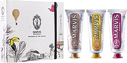 Kup Zestaw - Marvis Wonders of The World (3 x t/paste 25 ml)